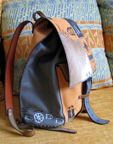Спортивные сумки и рюкзаки: рюкзак баул.