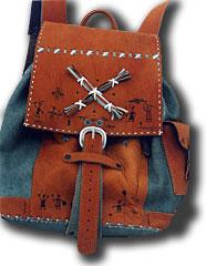 Авторские подарки - Кожаные изделия - Рюкзаки из кожи, кожаные рюкзаки, замша рюкзаки, рюкзаки с мехом.